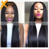 Raw unprocessed wholsale 100% natural straight indian human hair free sample hair bundles