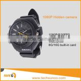 Body worn hidden camera 1080P HD wrist watch camera