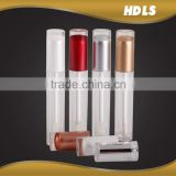 Customized aluminum lip gloss tube lip gloss container, empty cosmetic lip gloss packaging