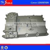 heavy duty truck clutch aluminum cover 1250307450 (gearbox rear cover) for ZF gear box S6-90
