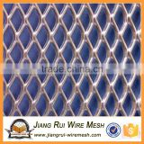 PVC coated Expanded security fencing / expanded metal mesh