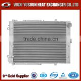 air cooled bar&plate heavy duty truck oil cooler
