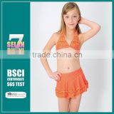New 2015 Girls Kids Baby Children Swimwear Girls Swimsuit Summer Swimming Bikini Bathing Suit