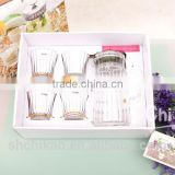 glass teapot with stainless steel infuser boxed gift set
