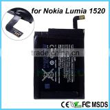 Good Quality Mobile Phone Rechargeable BV-4BW Battery for NOKIA Lumia 1520 1320 3.7V 3500 mAh