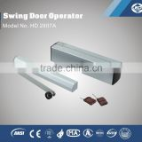 Automatic hydraulic door opener with remote control