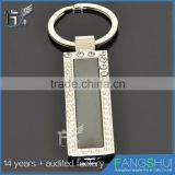 Customized metal toy gun keychains low price wholesale