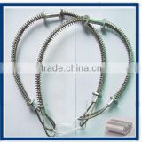 7*19 whip check hose to hose safety cable