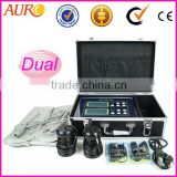 Au-08 Hot cosmetic items !!! Dual system Life Detox machine /ion foot detox machine
