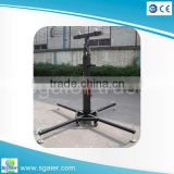4.5m heavy duty steel crank stand ,speaker stand hand winch ,lighting truss crank tower used