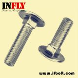 Carriage Bolts ASTM A307A Mushroom head square neck bolt in inch