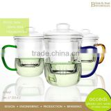 Microwavable Modern Newest Design Pyrex Thermo Glass Tea Pots