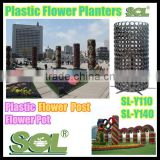China manufacture self watering plant pot vertikal hidroponik tower garden flower pot big