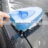 Blue cleaning brush car cleaning sponge / jumbo car washing sponge