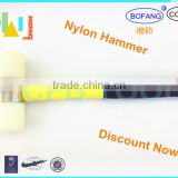 Non-sparking Aluminum Bronze Nylon Hammer With Fiber Handle,Explosion-proof Nylon Hammer,Nonsparking Hammers