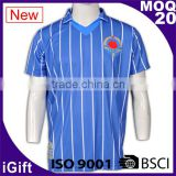 BSCI/ISO9001 Factory Dry fit Breathable fabric Italy sublimation Ink Hotsale cheap wholesale uniform china football