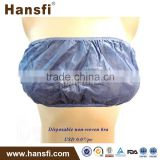 Non-woven strapless bra for SPA