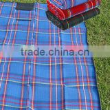 2014Xinbo 150cmx180cm Foldable Waterproof Outdoor Plaid Blanket Beach Camping Picnic Mat