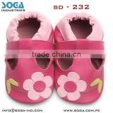 infant leather wear shoes with lovely design