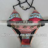 Sexy Elastic Strap two pieces swimwear /Bikini Trade Assurance supplier