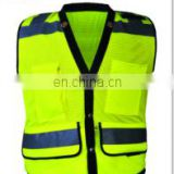 High Visibility reflecting safety soft work clothing