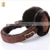 Fur Hair Soft Plush Winter Warm Ear Pad Muffs Cover Earmuffs