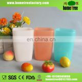 2015 new BPA free colorful plastic tooth mug 320ml