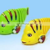 2017 new arrival educational funny wind up toy fish for kids