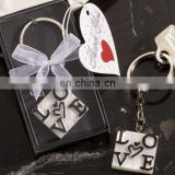 LOVE Design Keychain Favors