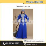 Embroidered Crystal Kaftan at Wholesale Rate