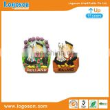 Holland style 3D sweet wedding souvenir promotion resin fridge magnet