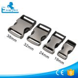 Gun metal color 25mm metal buckles for dog collars
