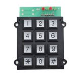 IP65 dynamic 12keys keypad with USB connect for security system