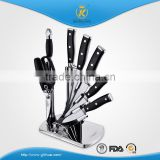 KITCHEN KING high quality stainless steel double forged handle knife set with chicken bone scissors