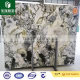 Chinese Ice connect marble, green onyx, white marble with green veins big slabs, tiles, factory price marble