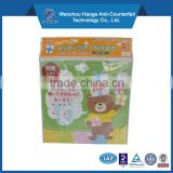 kids game cardboard for jigsaw puzzle magnetic
