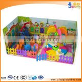 Guangzhou funny jungle theme small soft indoor playground equipment with electric coconut tree