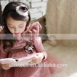 beautiful children fancy lace girl dress white puffy dresses for girls winter lace dress patterns for 2-8 years girls