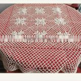 fitted stretch table cover round tablecloths crochet