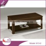 Home furniture arabic style modern design rectangle pvc home goods coffee table