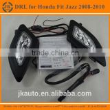 Best Selling Super Bright LED DRL Fog Light Excellent Quality LED Daylight for Honda Fit Jazz 2008-2010
