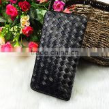 High Quality Fashion Black Women PU Wrinkle Cluth Wallet Famous Brand Designer Bag Purse Wallet