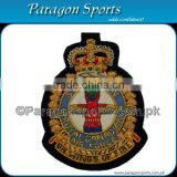 Squadron Royal Air Force Bullion On Wing of Fire Badge Handmade Embroidered Air Force Badges