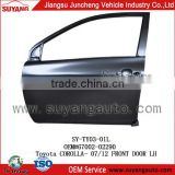 Front car door for Toyota Corolla 07-12 toyota auto spare parts 67002-02290