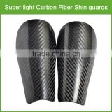 Top grade! 100% full Carbon Fiber shin guard soccer / Strong carbon fiber soccer shin guard for soccer race