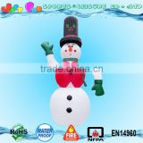 2016 HOT sell big outdoor inflatable snowman,outdoor small inflatable figure for Christmas n new year                                                                                                         Supplier's Choice
