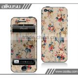 2013 removable skin vinyl for iphone4 with 3m material