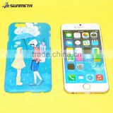 Sublimation phone case, blank phone case for thermal transfer printing, apply to iphone 6