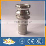 stainless steel quick couping with cylindrical heads type E