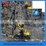 China Ingersoll Rand mining rock portable crawler DTH core sample drilling rigs for sale